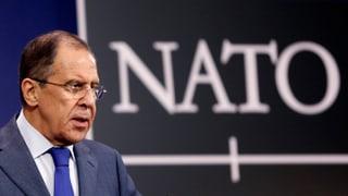 Lawrow kritisiert Nato wegen Ukraine