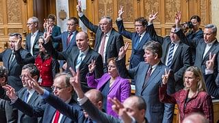 Auftakt zur 50. Legislatur – das Protokoll zum Nachlesen