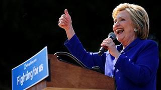 Clinton hat genügend Delegiertenstimmen