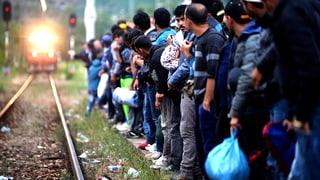 Mazedonien schleust seine Flüchtlinge per Bahn durchs Land