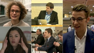 Jung und ambitioniert: Die Jungparteipräsidenten der Schweiz (Artikel enthält Video)