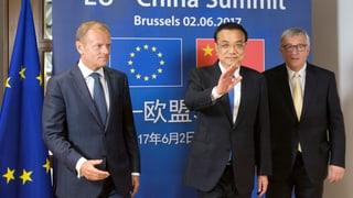 Brüssel und Peking trotzen Washington