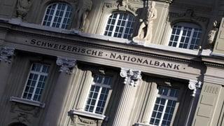 Nationalbank hält an bisherigem Kurs fest
