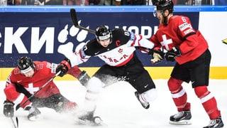 So lief die Niederlage der Schweiz gegen Kanada