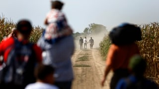Discurs davart corridor da fugitivs tras la Croazia
