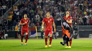 Eklat bei Serbien-Albanien