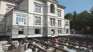 Villa in St. Gallen wird verschoben