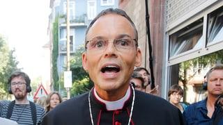 Vatikan verordnet «Protz-Bischof» eine Auszeit