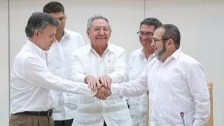 Durchbruch bei Friedensverhandlungen in Kolumbien