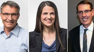Elecziuns 2019: Pfäffli, Stiffler e Züllig vulan
