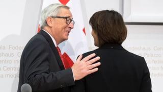 UE augmenta il squitsch sin la Svizra