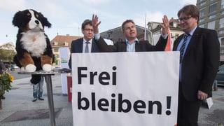 «Frei bleiben!» Die SVP startet in den Wahlkampf