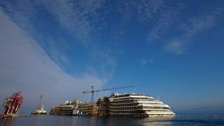 Italien kämpft um das Wrack der «Costa Concordia»