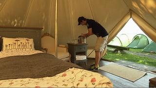 «Glamping» – mit Luxus-Camping gegen den Gästerückgang