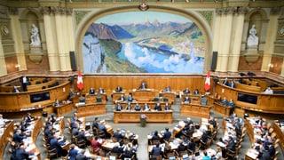 Parlament will Bundesrat den Rücken stärken