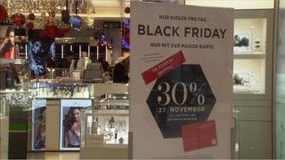 Schweizer Detailhandel hofft auf Black Friday