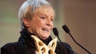 Ursula Schaeppi: Tränenreicher Auftritt am Prix Walo 2013