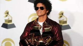 Bruno Mars grosser Abräumer mit sechs Auszeichnungen