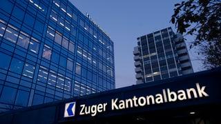 Zuger Kantonalbank schliesst 2016 erneut mit Gewinn