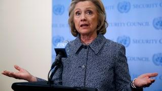 Hillary Clinton räumt Fehler in der E-Mail-Affäre ein