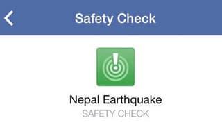 Bekannte oder Freunde in Nepal? Facebook und Google helfen