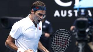 Starker Federer ohne Satzverlust in Runde 3 (Artikel enthält Video)