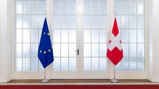 Lob in Brüssel für das Vorzeigeland Schweiz