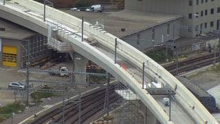 SBB-Vorzeigebrücke in Zürich unter Beschuss