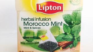 Lipton-Tee: Minz-Büschel drauf, Minz-Brösmeli drin (Artikel enthält Bildergalerie)