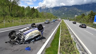 Zezras: In blessà tar accident sin l'A13