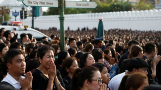 Thailand trauert – und fürchtet sich vor morgen