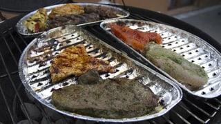 Wie viel Alu wandert beim Grillieren ins Essen?