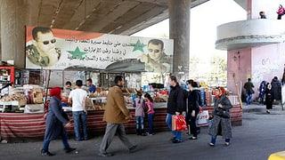 Las armas taschan en la Siria