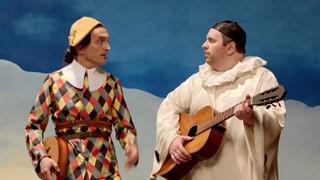 Video «Bilder allein zuhaus: Harlekin und Pierrot (4/30)» abspielen
