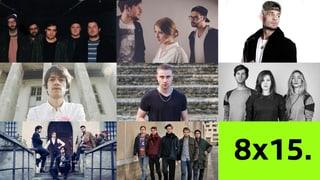 «8x15.»: Die Schweizer Musikszene feiert eine Orgie