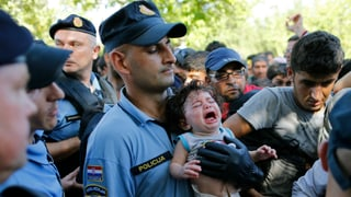 Kroatien schliesst Grenze zu Serbien