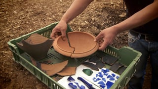 Video «Zurück in die Römerzeit: Eine archäologische Spurensuche in Frick» abspielen