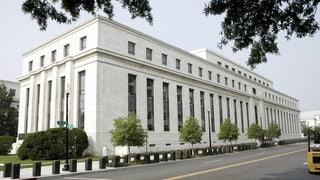 US-Notenbank hält Leitzins tief – trotz Aufschwung