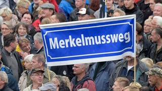 Deutsche Einheit: Demonstranten pöbeln gegen Regierung und Gäste