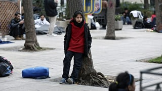 Flüchtlinge: Gestrandet mitten in Athen