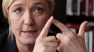 Marine Le Pen: «Die Schweiz spielt eine entscheidende Rolle»
