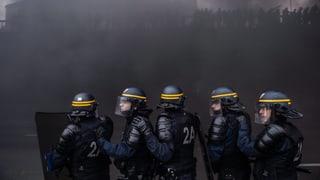 Gewaltsame Streiks in Frankreich