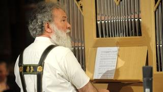 Video «Goldener Violinschlüssel für Organist Wolfgang Sieber» abspielen