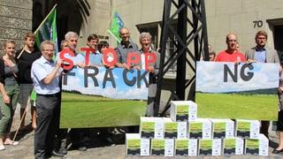 Initiative gegen Fracking eingereicht