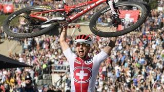 Nino Schurter: Im 10. Anlauf die «harte Nuss geknackt» (Artikel enthält Video)