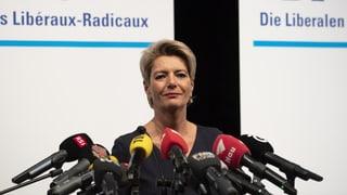 Karin Keller-Sutter vul ir en il Cussegl federal