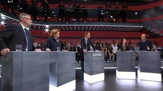 «Arena» zum Asyl-Notfallplan: Ist die Schweiz gewappnet?