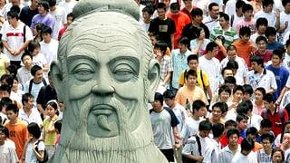 In Chinas Philosophie geht's immer auch ein bisschen um Konfuzius
