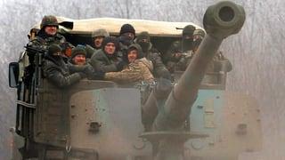 In der Ukraine wird geschossen – trotz Waffenruhe
