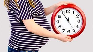Babys halten sich nicht an 40 Wochen
